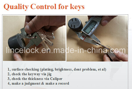 Padlock, Disc Padlock/Stainless Steel Dimple Key Disc Padlock (203)