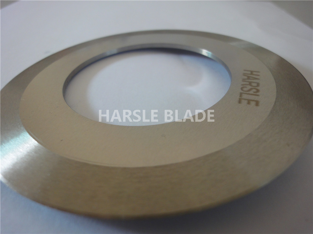 Circular carton cutting blade with spacer, 110*55*1.2mm slitting blade and 8mm seperate ring