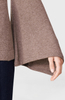 P18B007BW Women Cashmere Sweater flare sleeve pullover jumper for lady