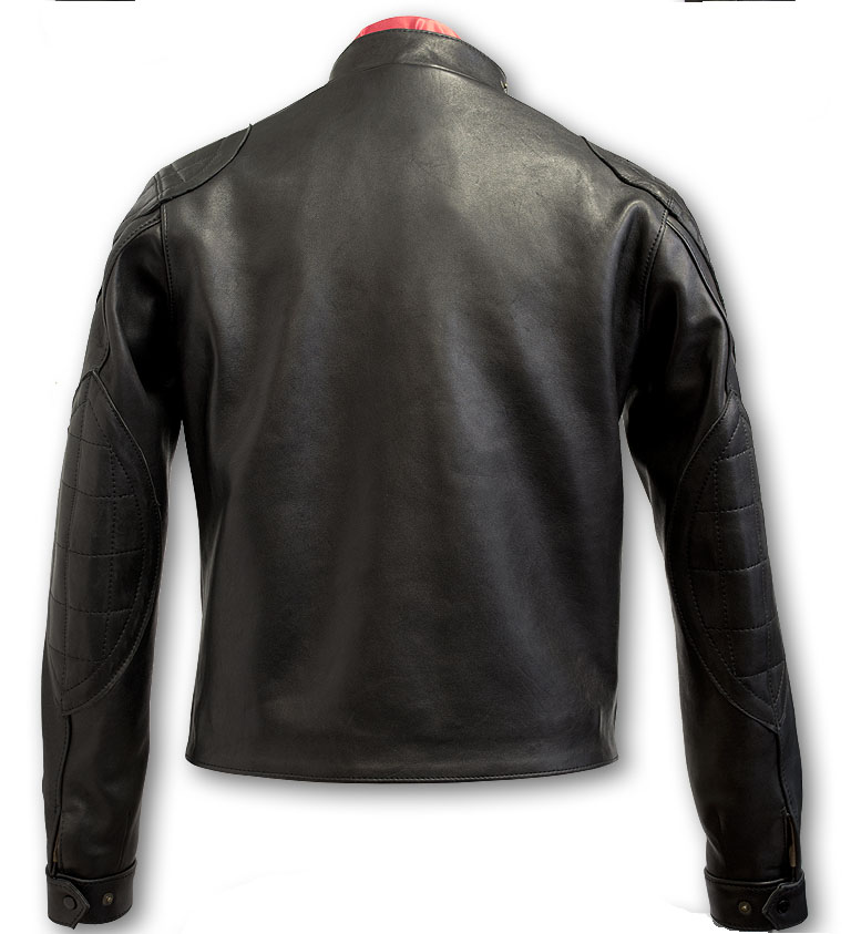 P18E0015BW up to date hot sale real leather custom jacket for men all seasons custom