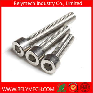 Stainless Steel Hex Socket Cup Head Bolt Machine Screw M1.6-M20