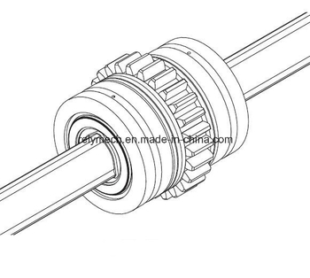 Lbgt Ball Spline/Linear Motion Spline/Linear Ball Spline with Gear Teeth/Thrust Washer