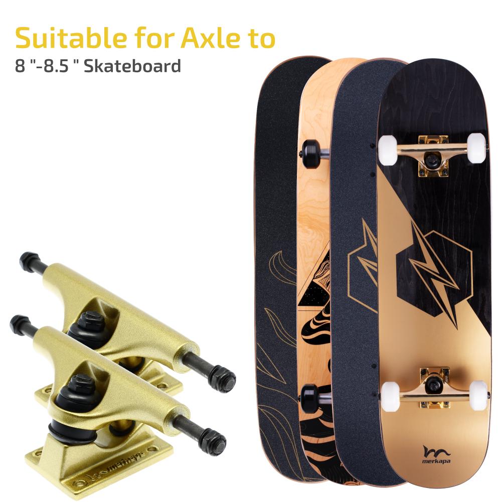 Merkapa Skateboard Trucks Assembly Kit - 5