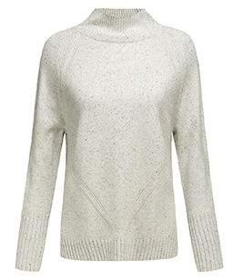 P18B12TR 100% cashmere knitted lady sweater