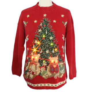 PK18A38YF led christmas sweater