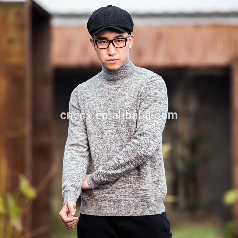 16STC8030 man sweater turtleneck cashmere pullover