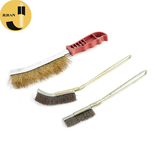 KB02 Crimped Wire Brush with Handle