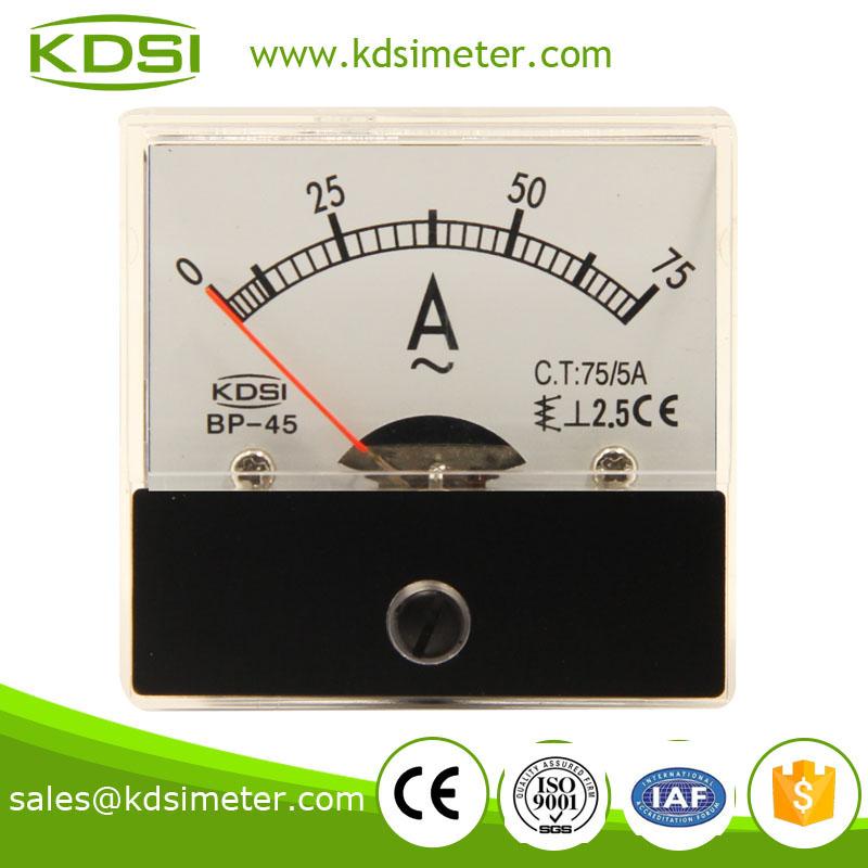 指针式交流电流表 BP-45 AC75-5A