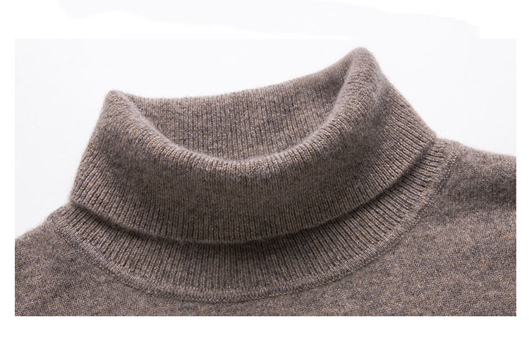 2019AW OEM wool cashmere knitted pullover sweater for men