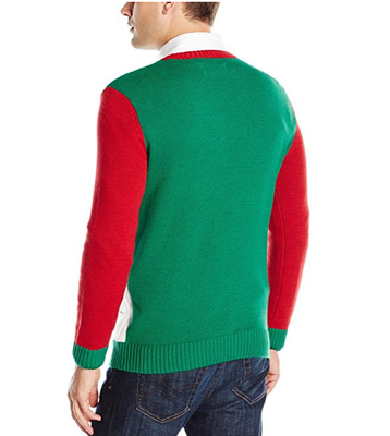 PK1872HX Ugly Christmas Sweater Men's Stick Up