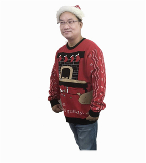 Unisex ugly christmas sweater plus size pullover sweater