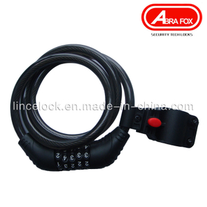High Quality Keyless Combination Code Bicycle Cable Lock (535)