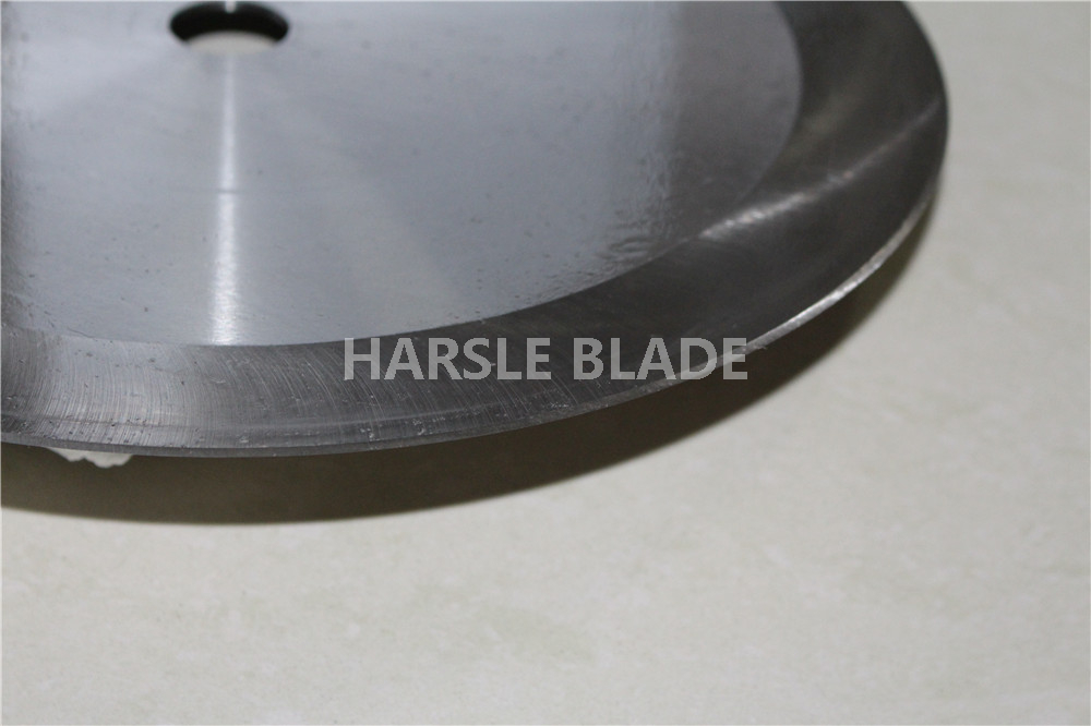 300mm large circular cutting knife, 2.5mm thickness rubber slitting blade