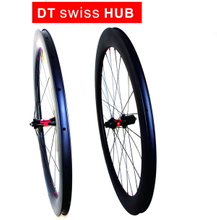 Free shipping DT swiss 240S road bike carbon wheels 60mm carbon wheelset clincher 23mm width U shape