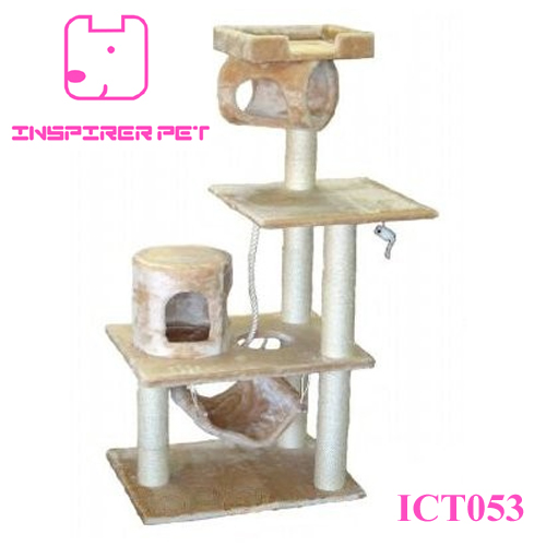 Cat Tree Condo Furniture Scratcher Post Toy Cat House