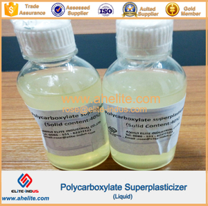 Polycarboxylate superplasticizer liquild