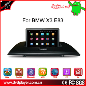 android  system for bmw X3 car gps navigatior wifi connection 3g internet