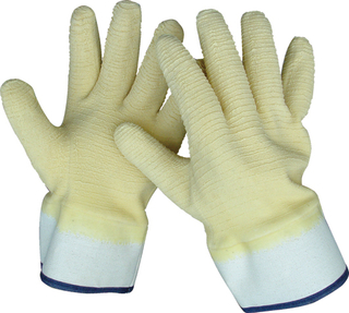 LATEX COATED GLOVES SAFETY CUFF