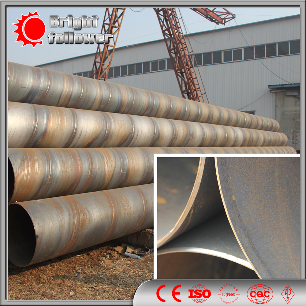 Welded Steel Pipes : Spiral welded steel pipe
