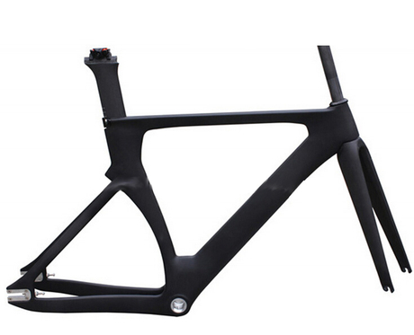 Highend track carbon frame aero design BSA or BB30 bottom bracket