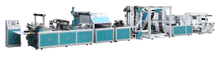 ZR-XA Non woven bag making machine with online handle attach