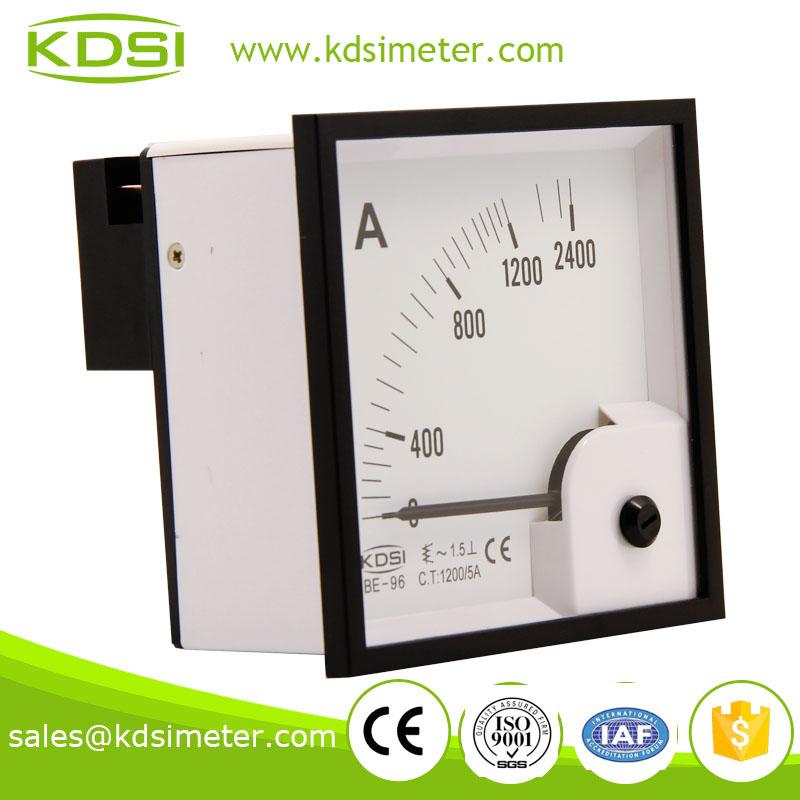 高精度电流表 指针电流表 be-96 ac1200/5a