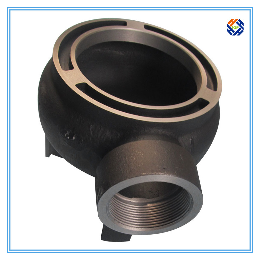 Carbon steel castings pump fittings China supplier Qingdao Haozhifeng Machinery Co.,Ltd