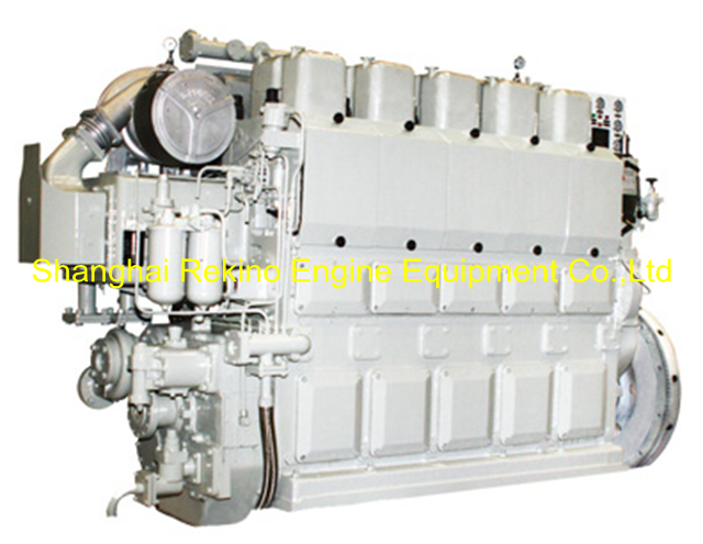 450HP-1000HP Zichai medium speed marine diesel engine (5210ZLCZ)