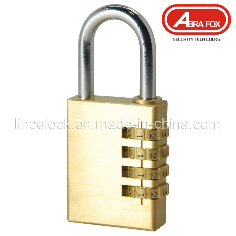 Padlock, Brass Combination Padlock