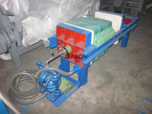 Mini Crude Enzyme Jack Screw Filter With Feeding Pump