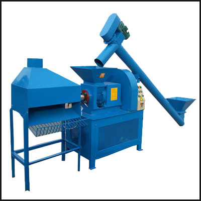 Screw Wood Sawdust Charcoal Briquette Making Machine