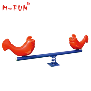 Red fish seesaw