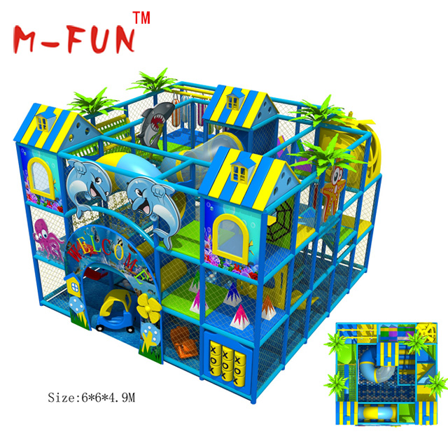 Indoor Soft Play Climbers