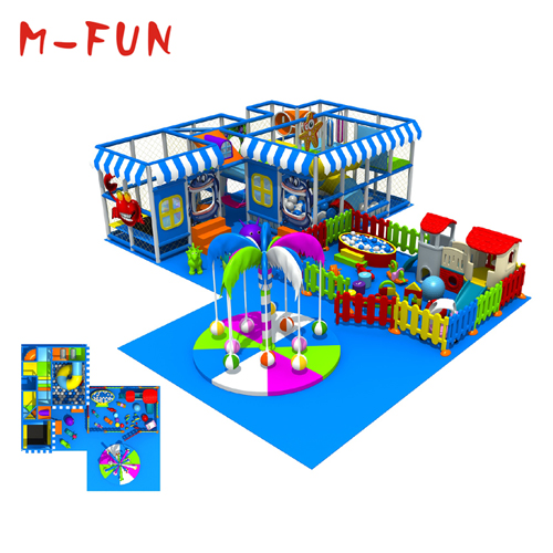 Creative animal themed indoor playground