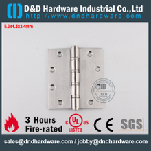 DDSS002-5x4.5x3.4mm-Stainless Steel Classical Fire Rated Ball Bearing Hinge with UL for Metal Door