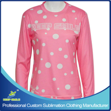 Custom Sublimation Girl's Lacrosse Long Sleeve Shooter