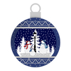 Plastic Hanging Ball Christmas Ball Snow Globe