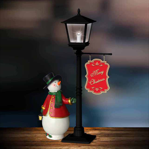 Mini Christmas Lamp,Led Lamp with snowman