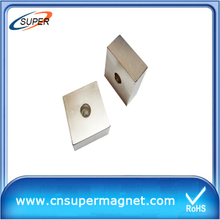 Permanent N35 Neodymium Permanent Magnets Block