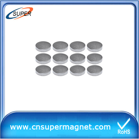 N50 rare Earth disc ndfeb magnet in China