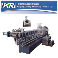 TSE-50 PET recycling Compounding Parallel Co-rotating twin screw extruder price