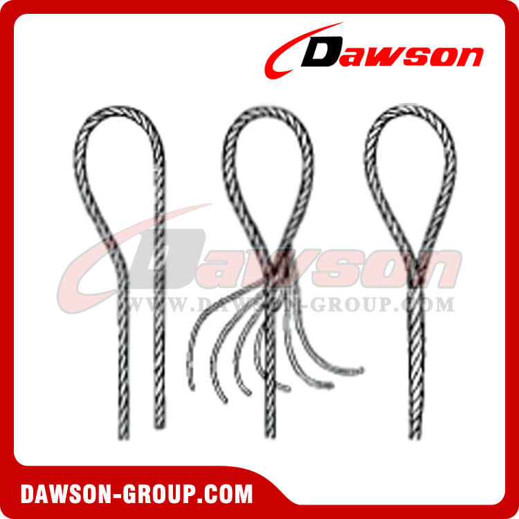 WS81-E-E,T,TH,S&K Tapered Eye Splice Wire Rope Slings - China ...