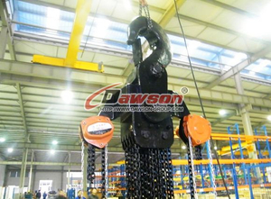50 TON - 50T - 50000KG Manual Chain Hoist, Chain Block for Construction Site