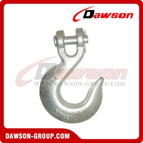 DS124 G70 and G43 Forged Clevis Slip Hook