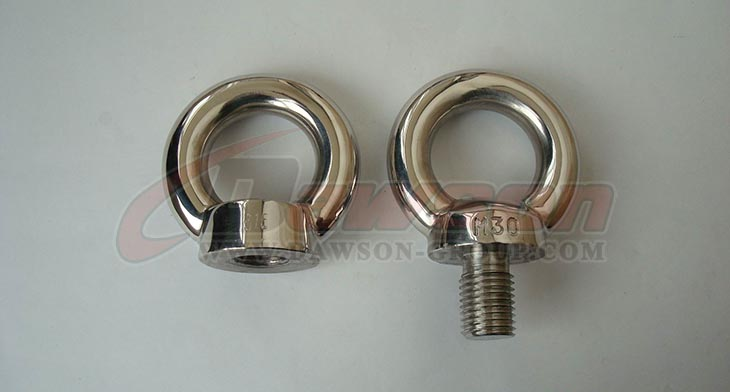 Stainless Steel DIN 580 Eye Bolt - Dawson Group Ltd. - China Manufacturer, Supplier, Factory, Exporter