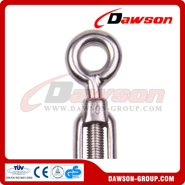 67 AISI304 -AISI316 Turnbuckle hook and eye European type stainless steel - Dawson Group Ltd. - China Manufacturer, Supplier, Factory, Exporter
