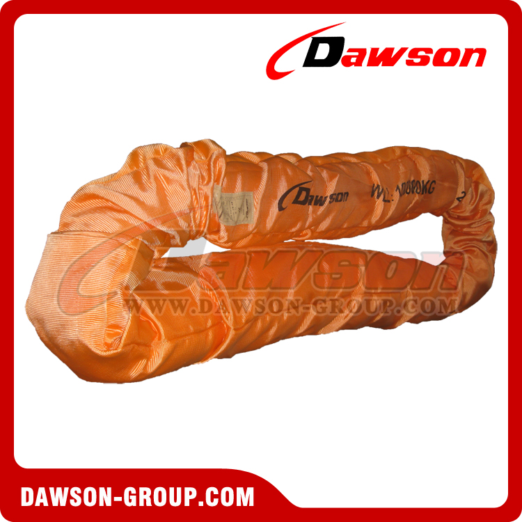 80 ton heavy duty round slings - Dawson Group Ltd. China Manufacturer Supplier