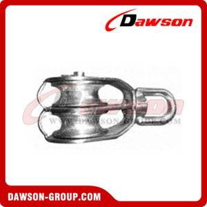 AISI304 AISI316 Swivel Eye Pulley
