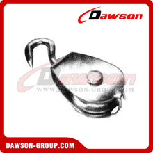 AISI304 AISI316 Swivel Hook Pulley