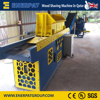Wood Shaving Machine Installed In qatar 2016